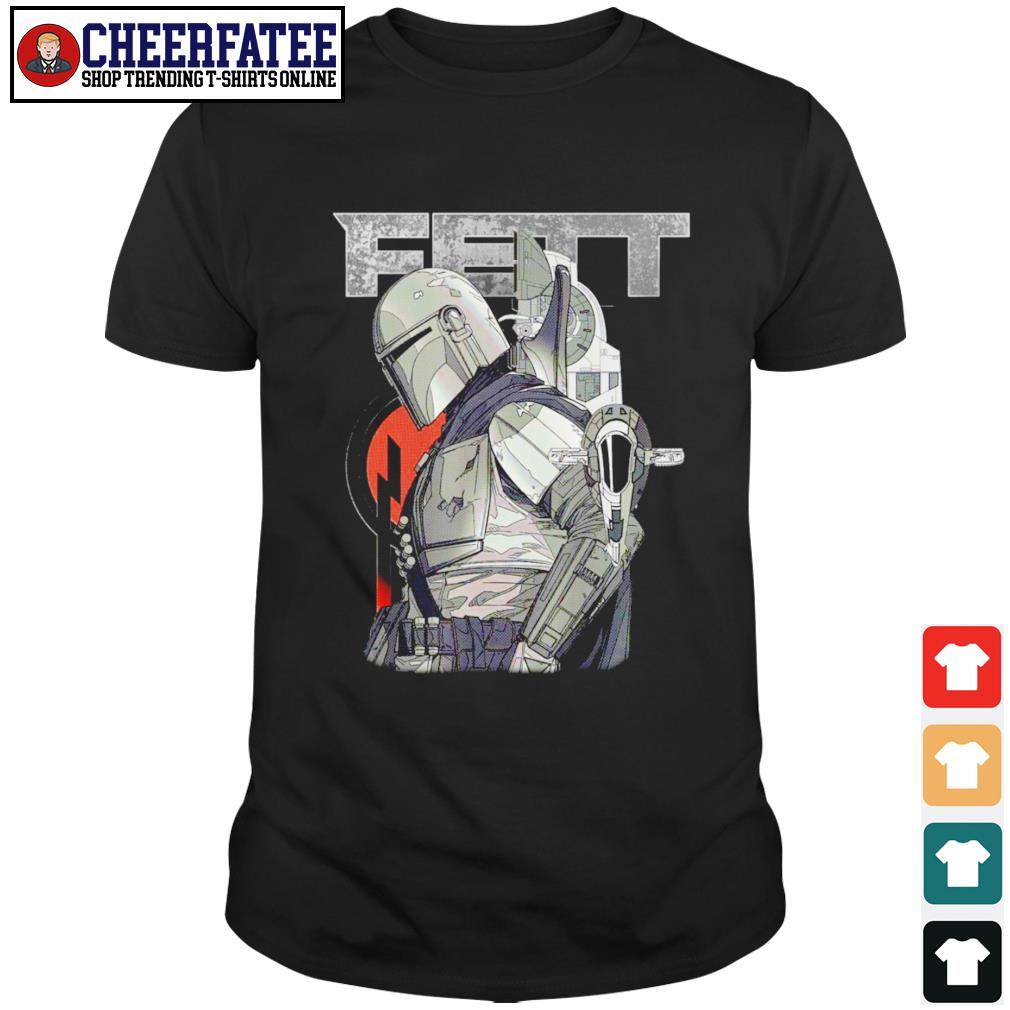 The Mandalorian Fett Star Wars shirt