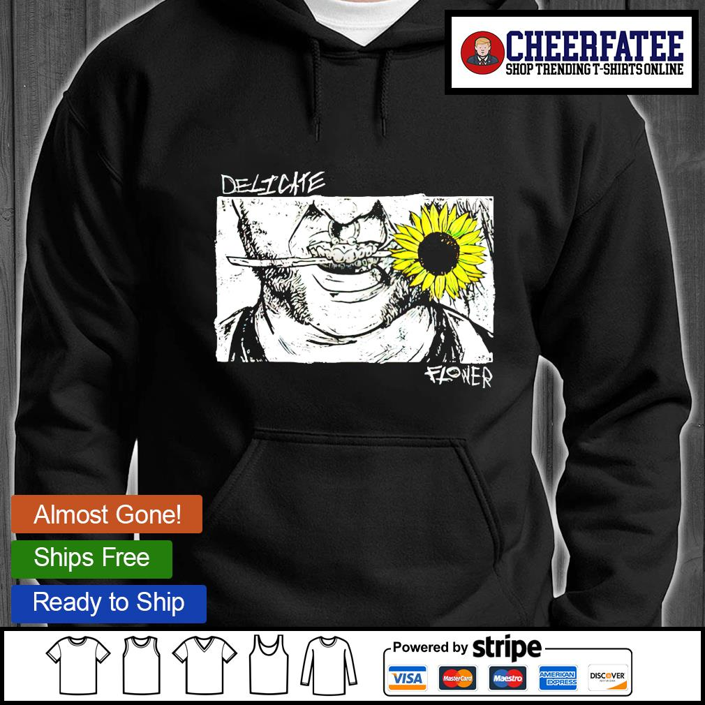 Atticus cogar delicate flower hoodie