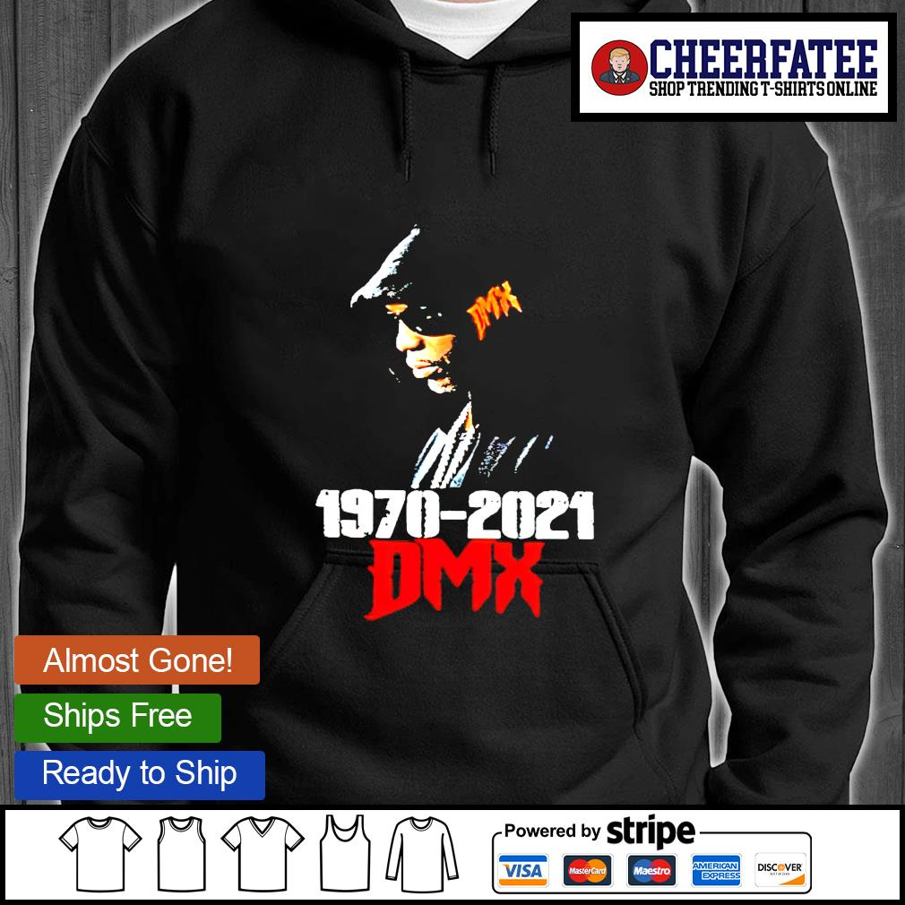 Official Rip DMX 1970-2021 hoodie
