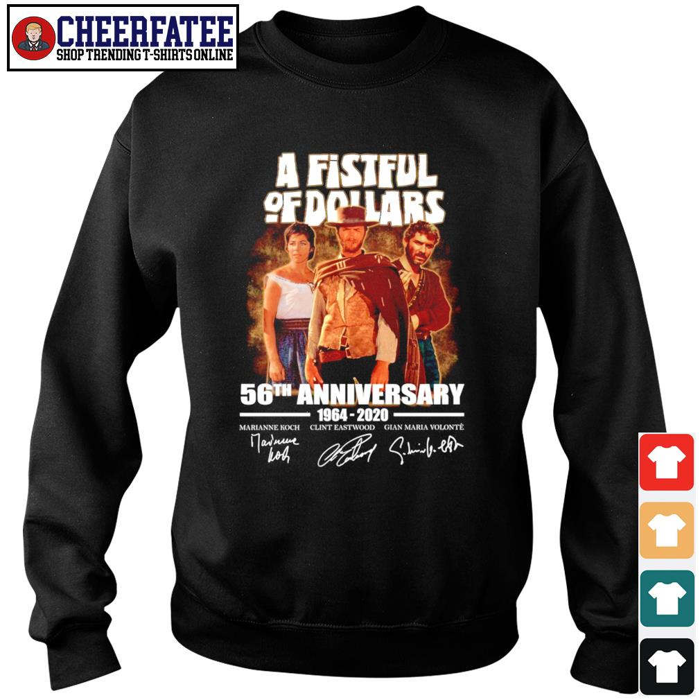 A fistful of dollar 56th anniversary 1964 2020 signature s sweater