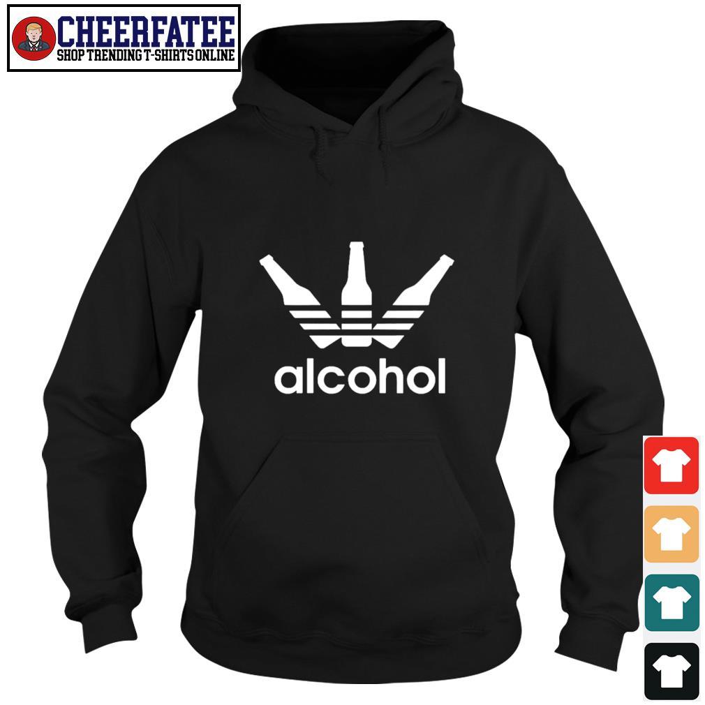 Adidas alcohol logo s hoodie