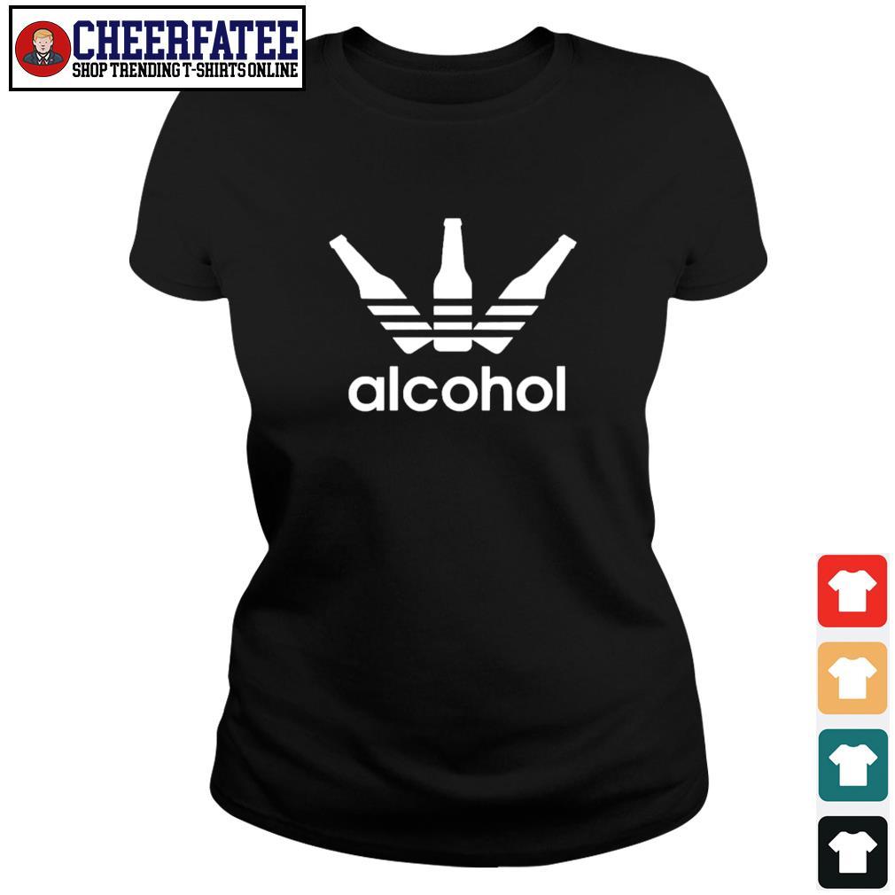 Adidas alcohol logo s ladies-tee