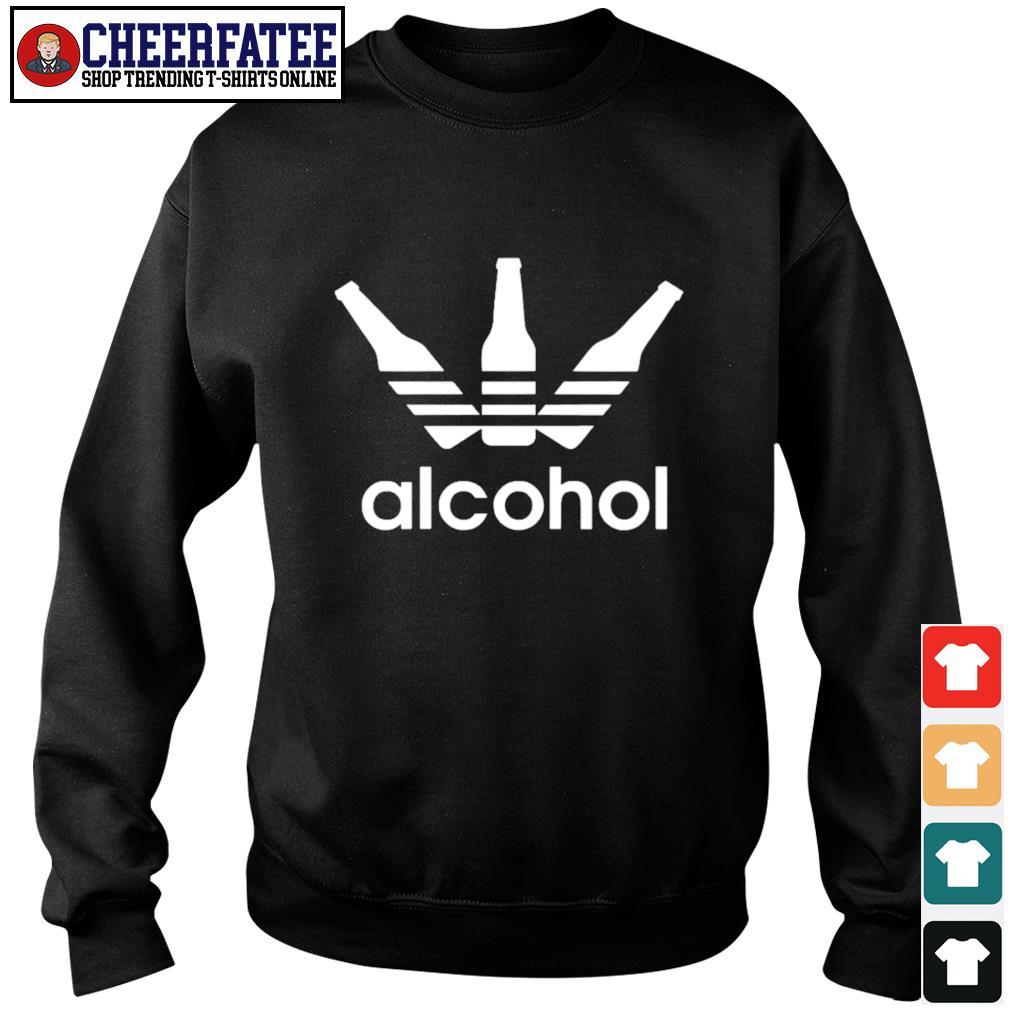 Adidas alcohol logo s sweater