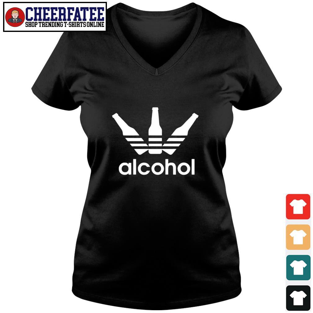 Adidas alcohol logo s v-neck t-shirt