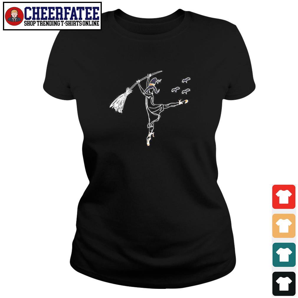 Ballet witch dance s ladies-tee