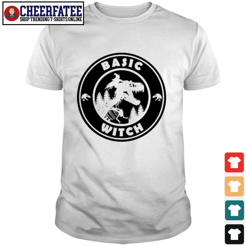 Basic witch dinosaurs shirt