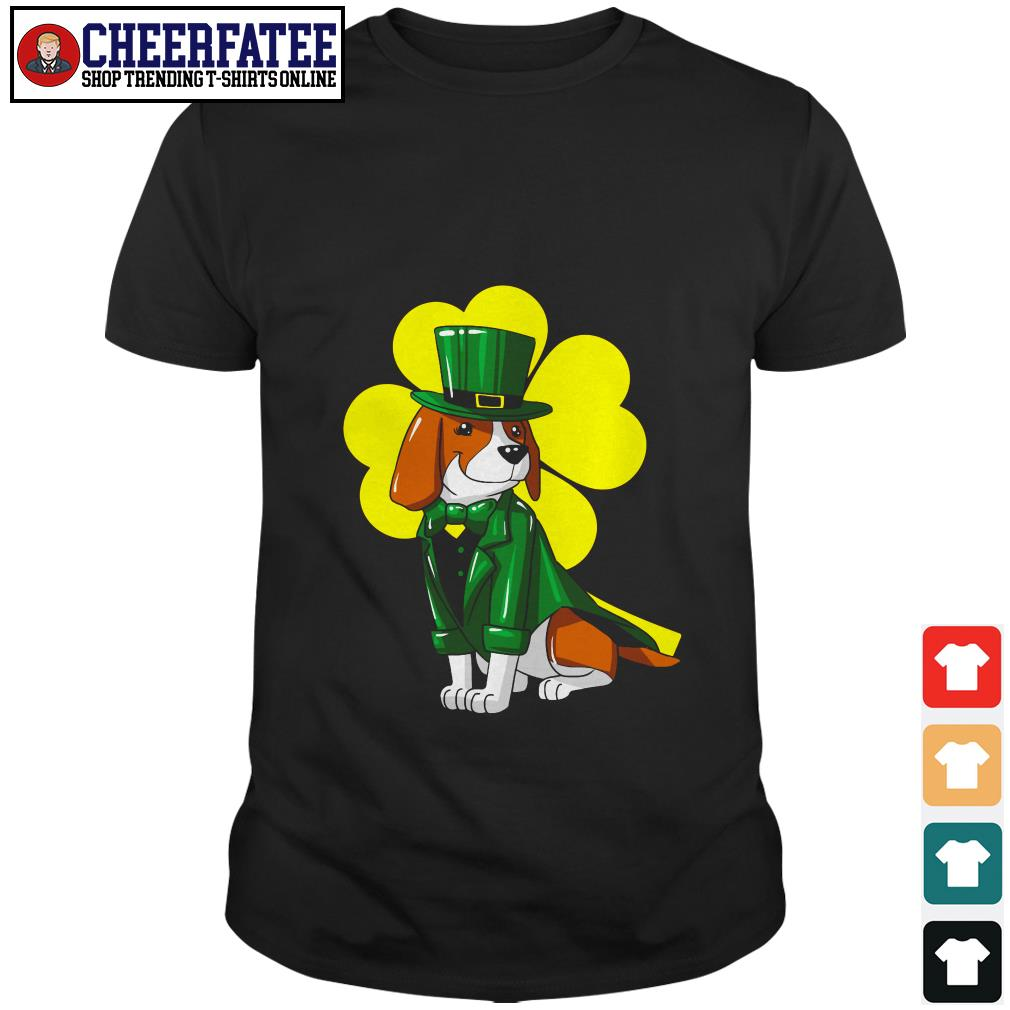 Clickbuypro Unisex Tshirt Beagle Clover St Patricks Day Shirt Sweater Blue 5xl