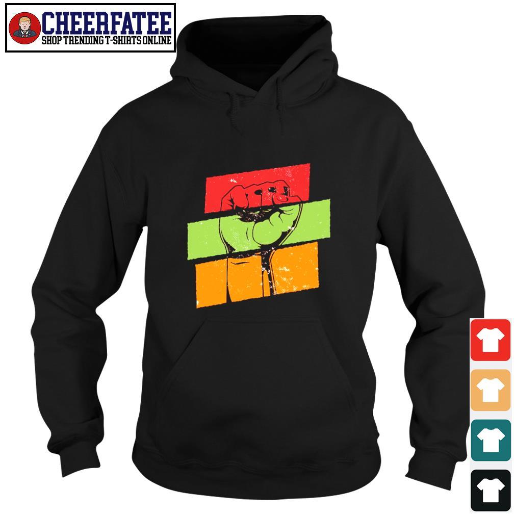 Black live matter vintage s hoodie