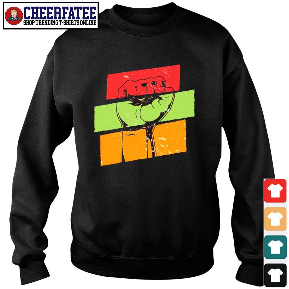 Black live matter vintage s sweater