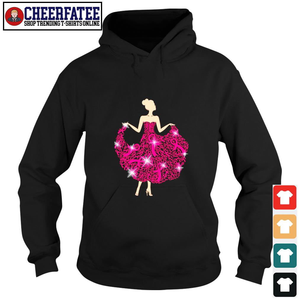 Breast cancer girl dance s hoodie