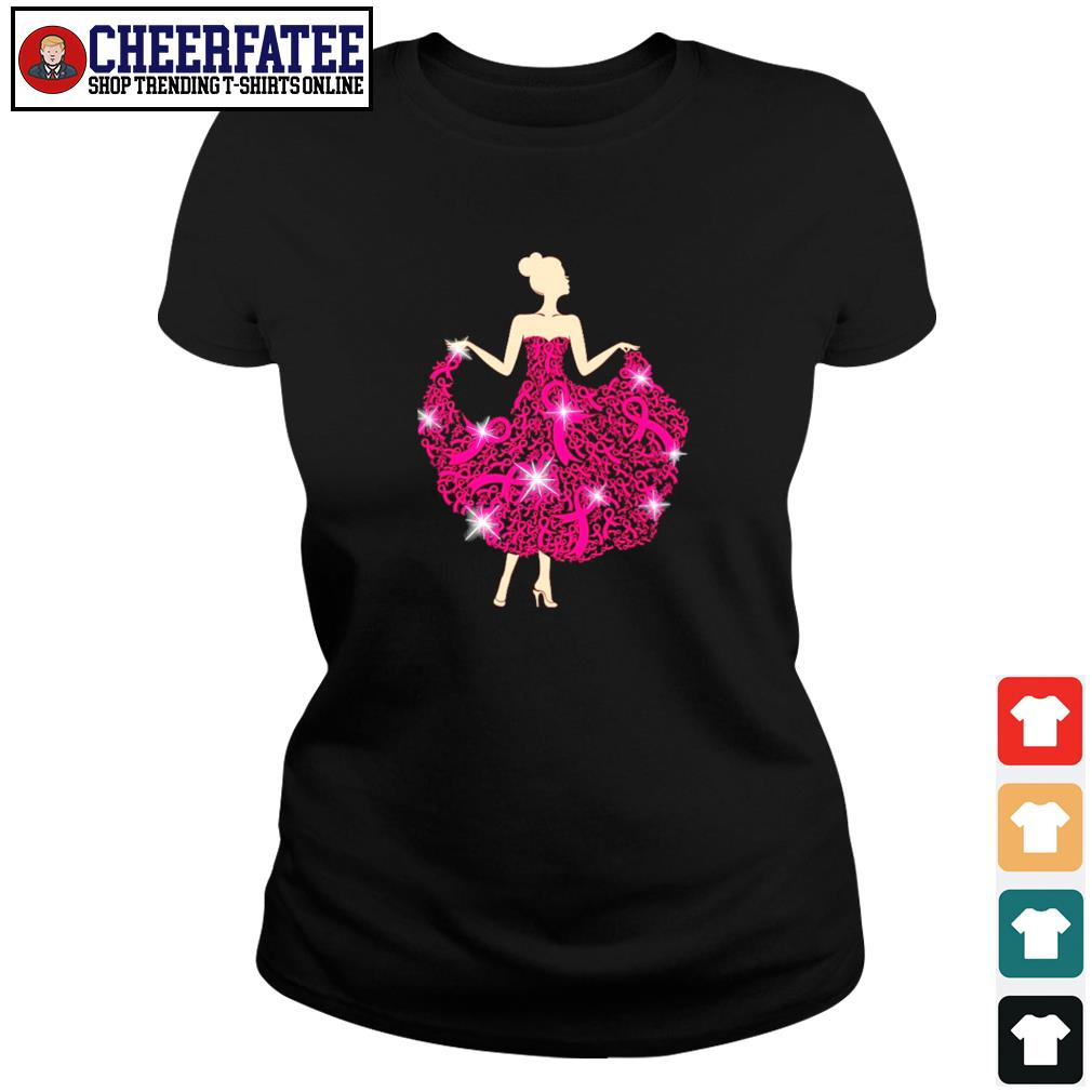 Breast cancer girl dance s ladies-tee