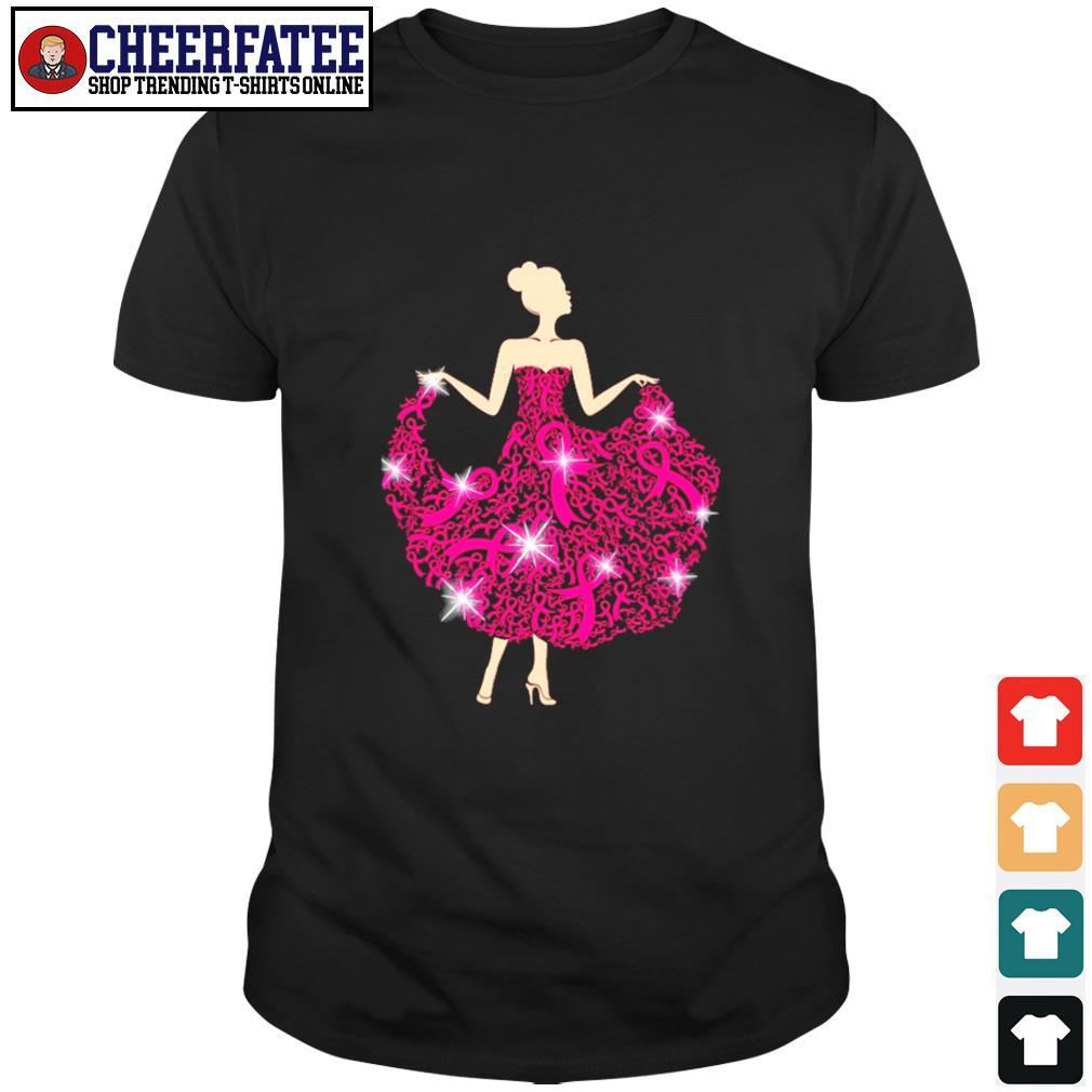 Breast cancer girl dance shirt