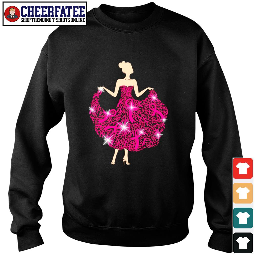Breast cancer girl dance s sweater