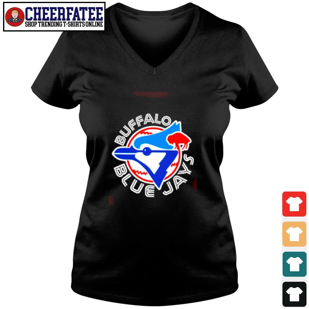 Buffalo blue Jays s v-neck t-shirt