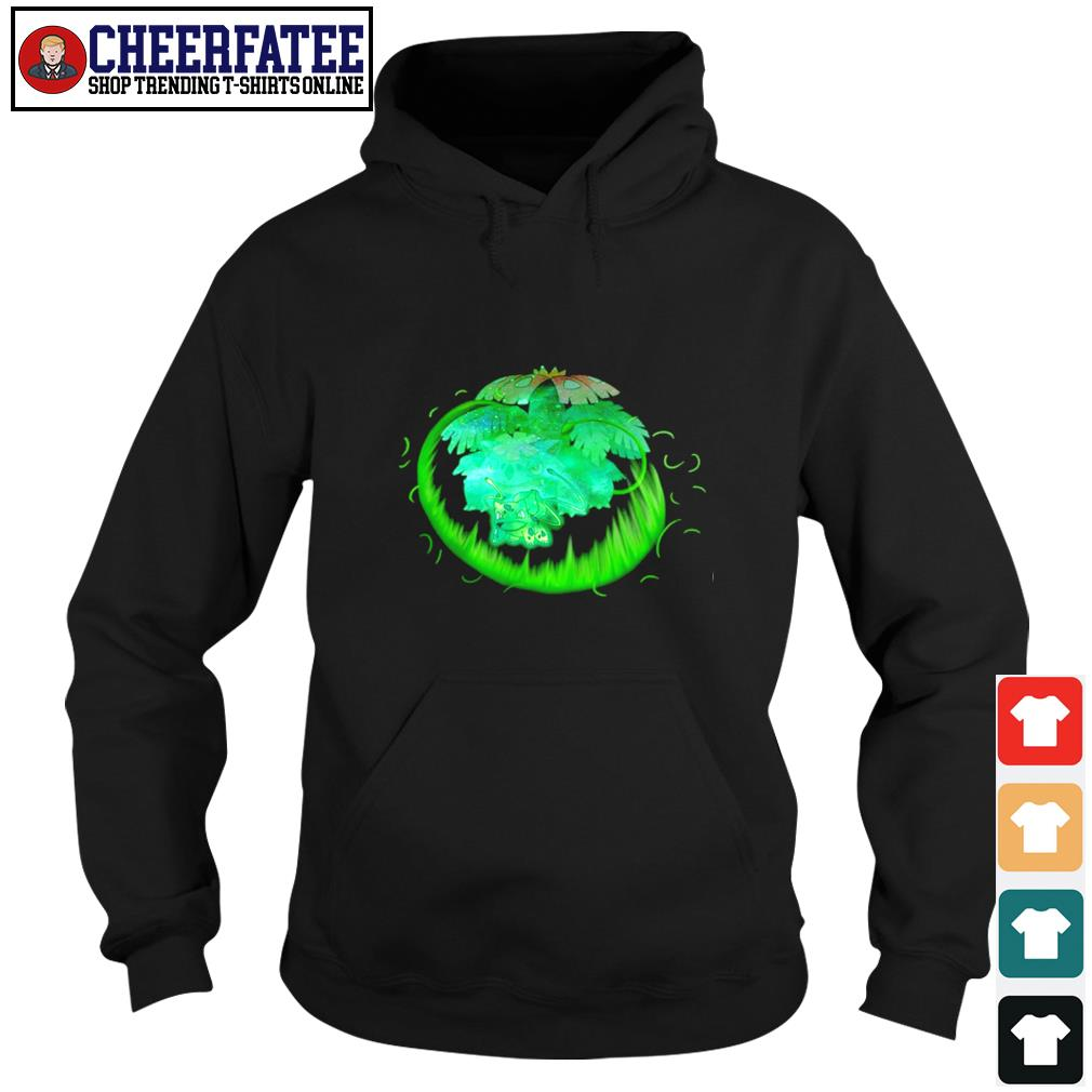 Bulbasaur grass type evolution Venusaur s hoodie