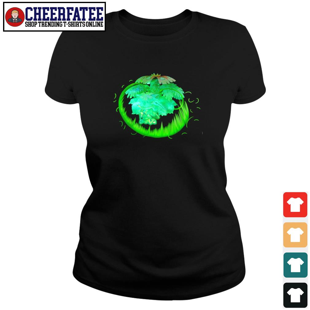 Bulbasaur grass type evolution Venusaur s ladies-tee