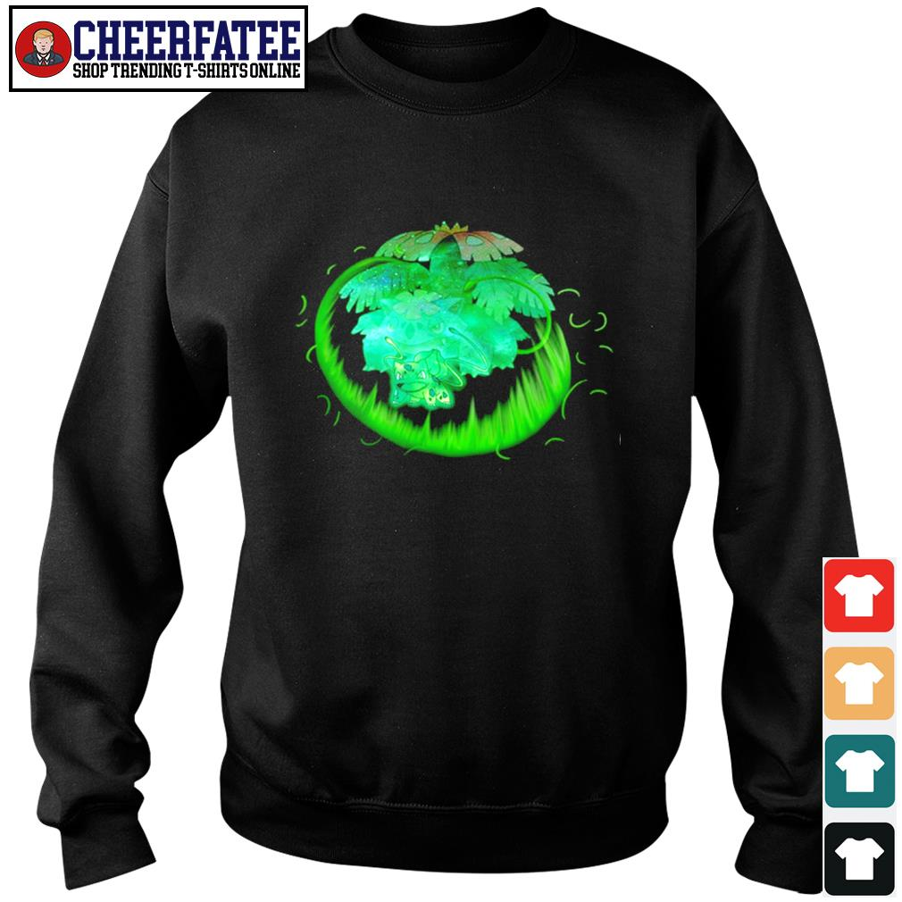 Bulbasaur grass type evolution Venusaur s sweater