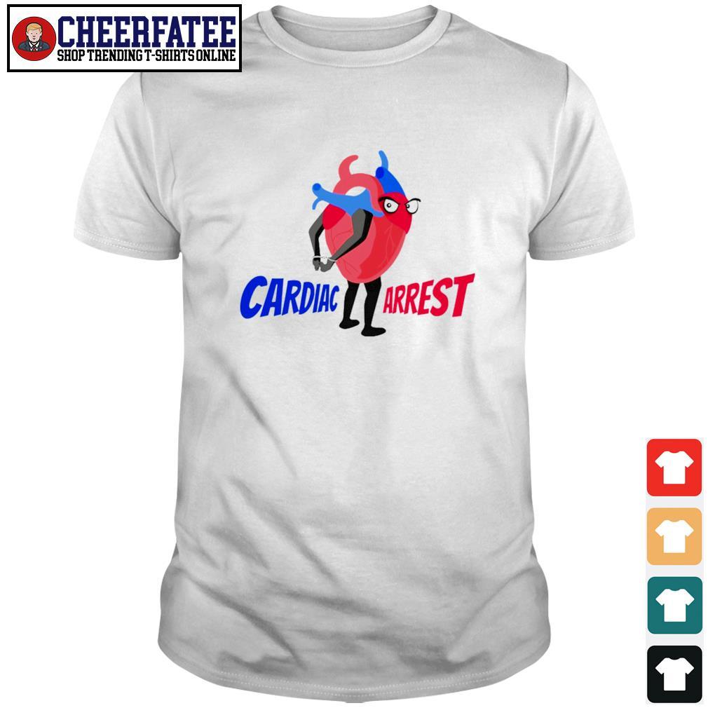 Cardiac arrest heart shirt