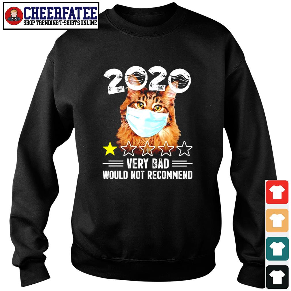 Cat mask 2020 very bad would not recommend s sweater