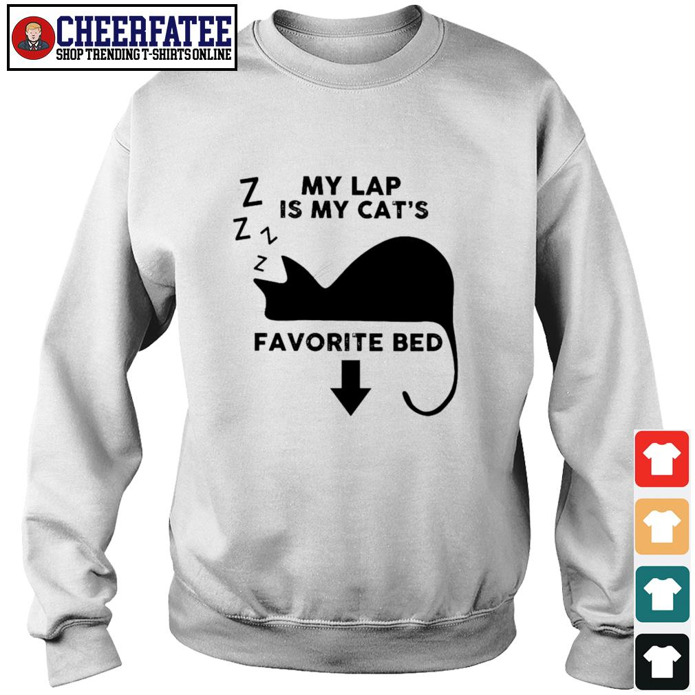 Cat my lap is my cat's favorite bed s sweater