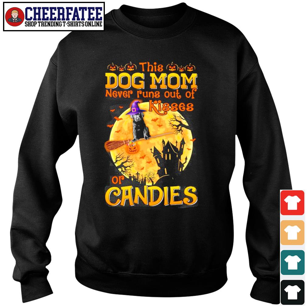 Dog mom never runs out of kisses or candies halloween s sweater