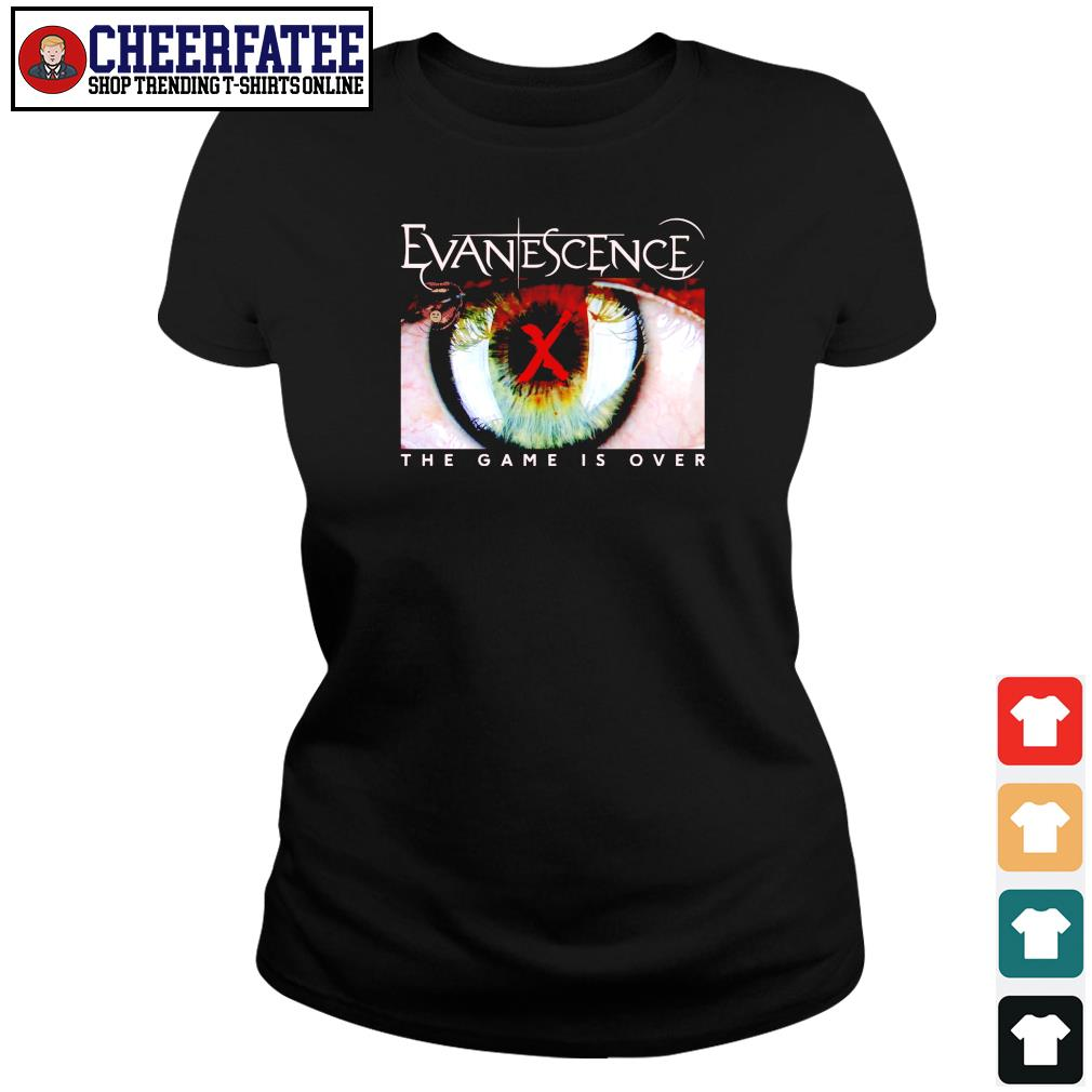 Evanescence the game is over s ladies-tee