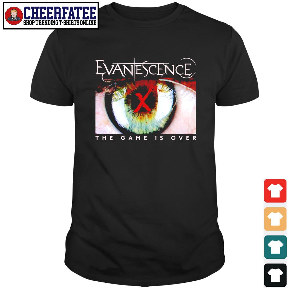 Evanescence the game is over shirt