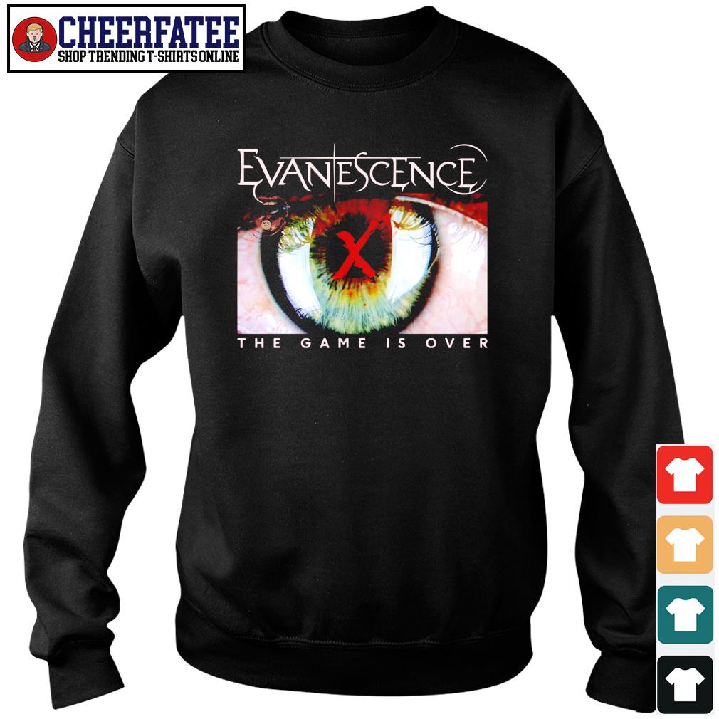 Evanescence the game is over s sweater