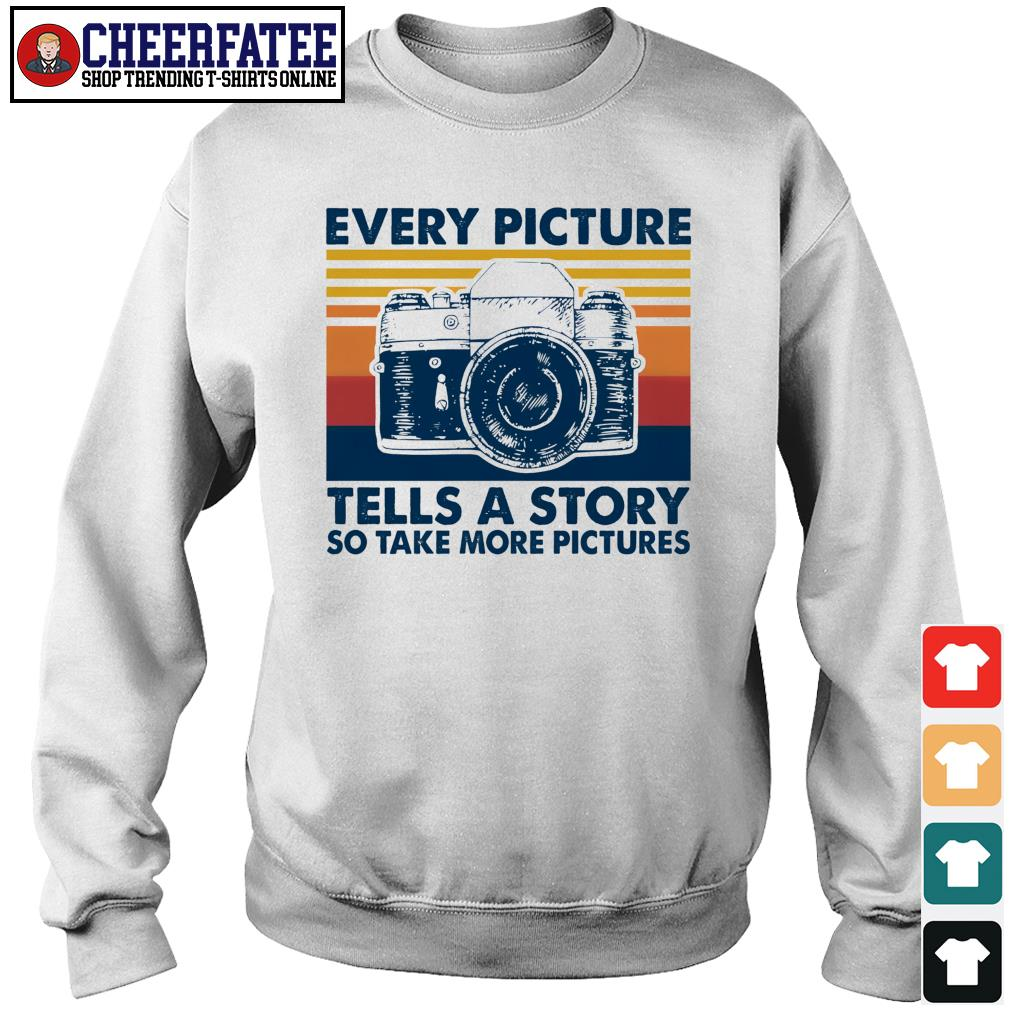 Every picture tells a story so take more picture vintage s sweater
