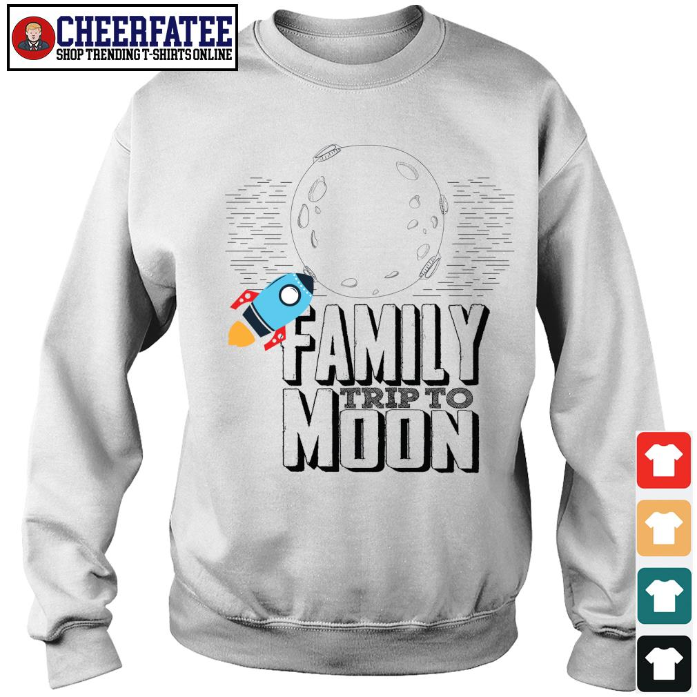 Family trip to moon s sweater