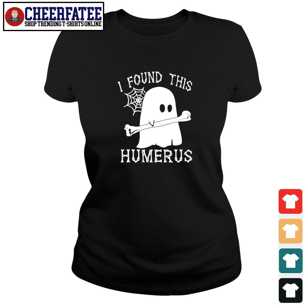 Ghost I found this humerus s ladies-tee