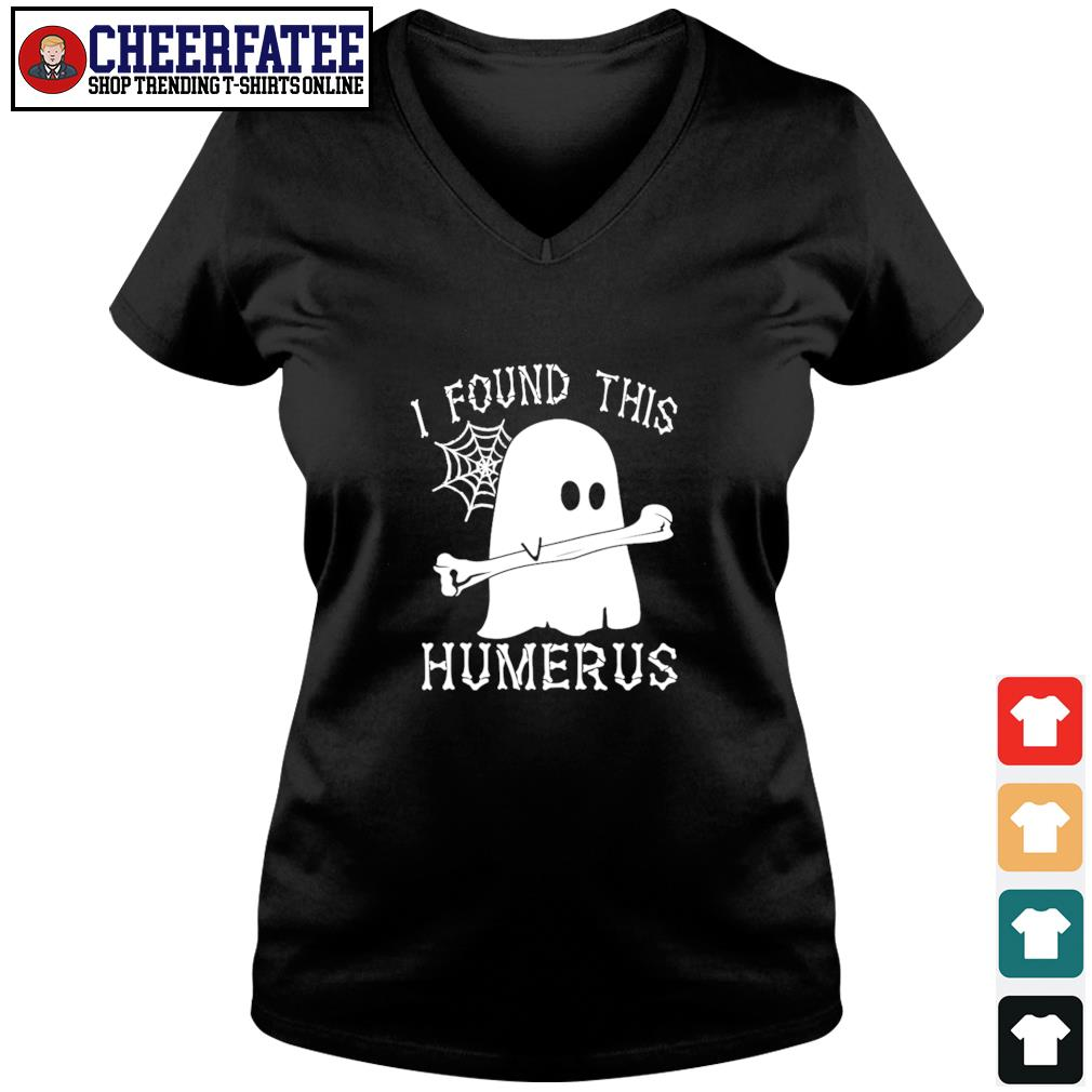Ghost I found this humerus s v-neck t-shirt