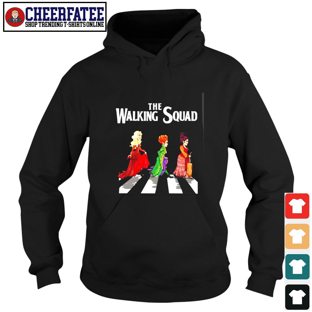 Hocus pocus the walking squad abbey road s hoodie