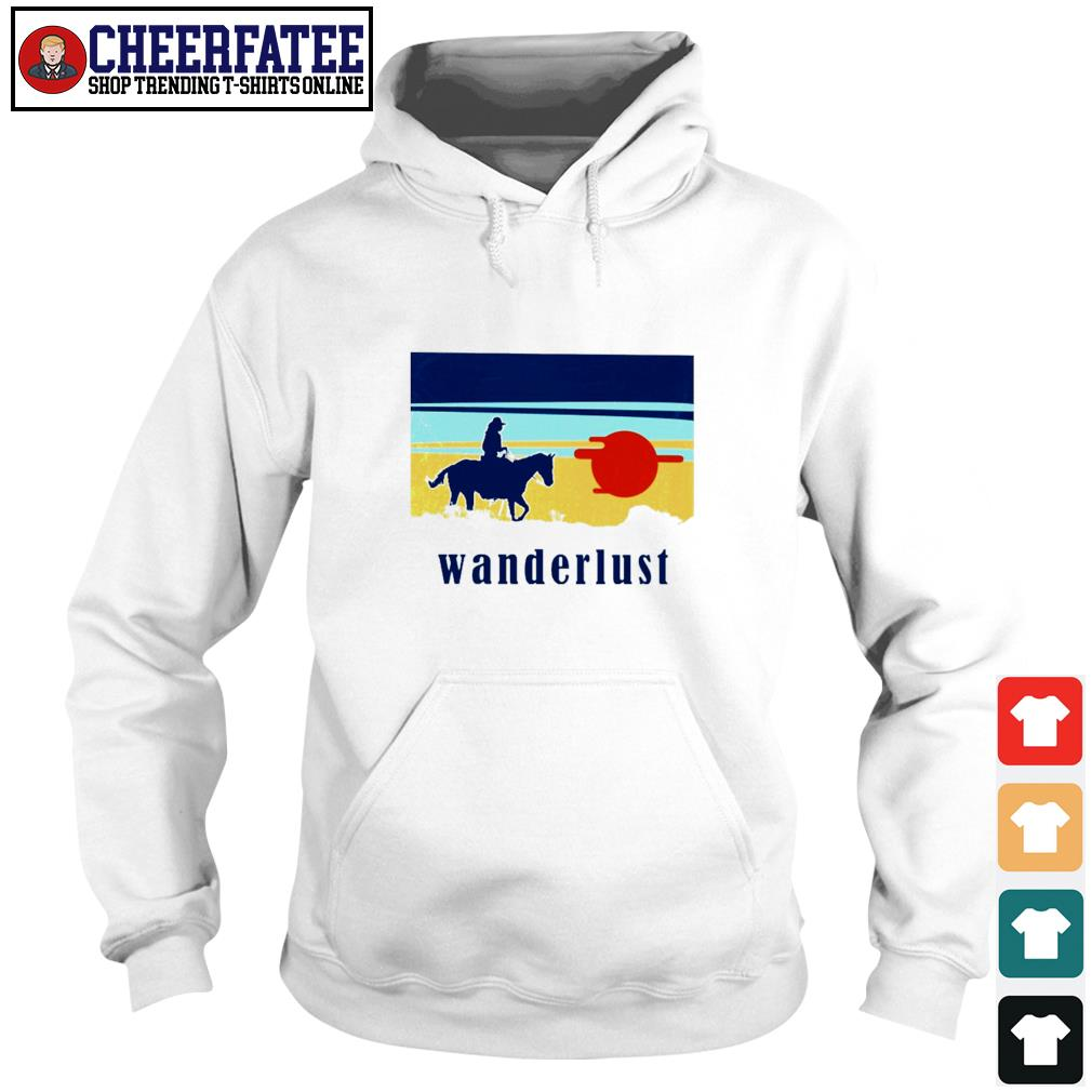 Horse wanderlust sunshine s hoodie