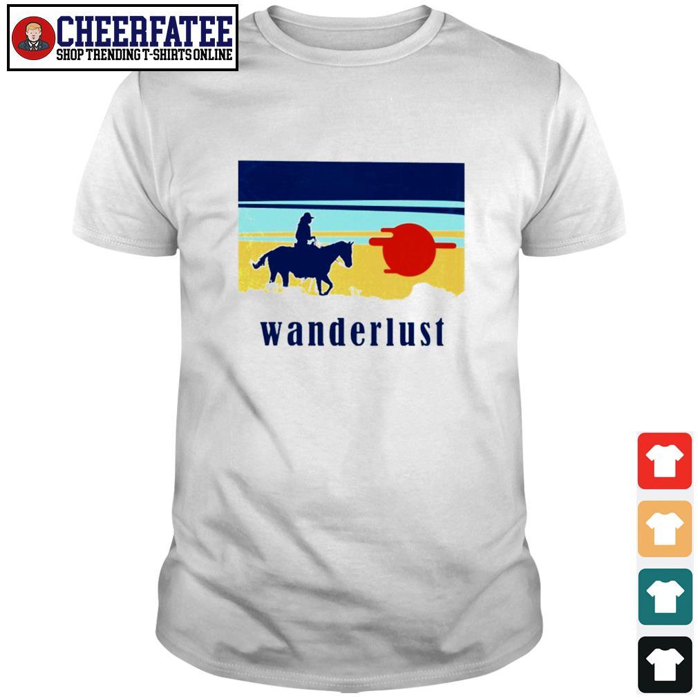 Horse wanderlust sunshine shirt