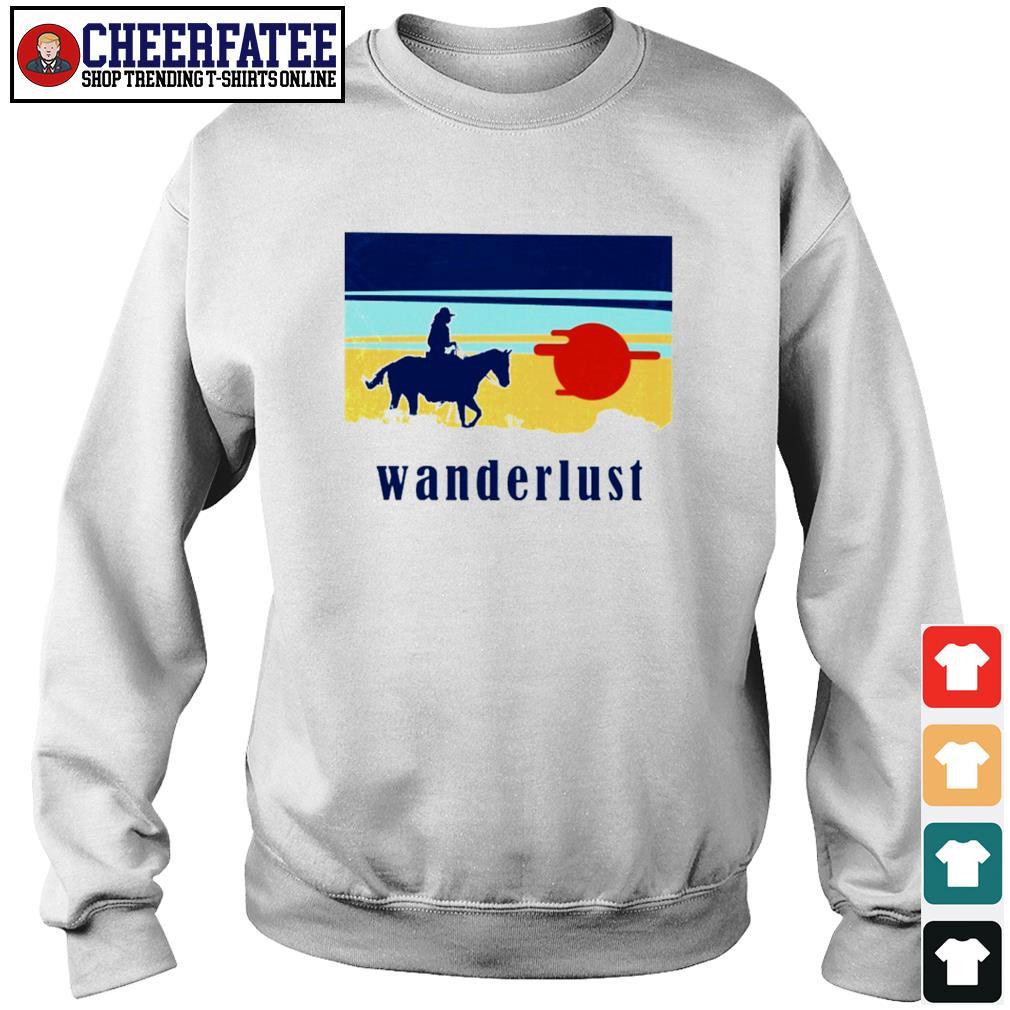 Horse wanderlust sunshine s sweater