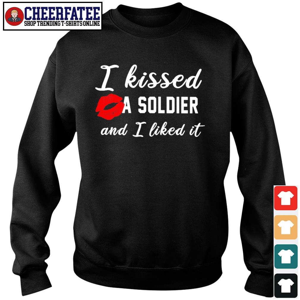 I kissed a Soldier and I liked it s sweater