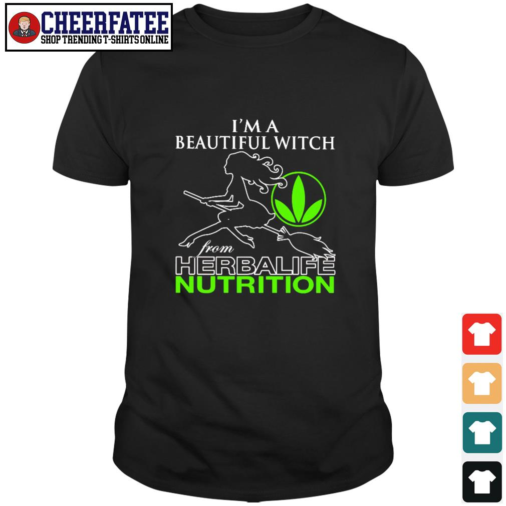 I'm a beautiful witch from herbalife nutrition shirt