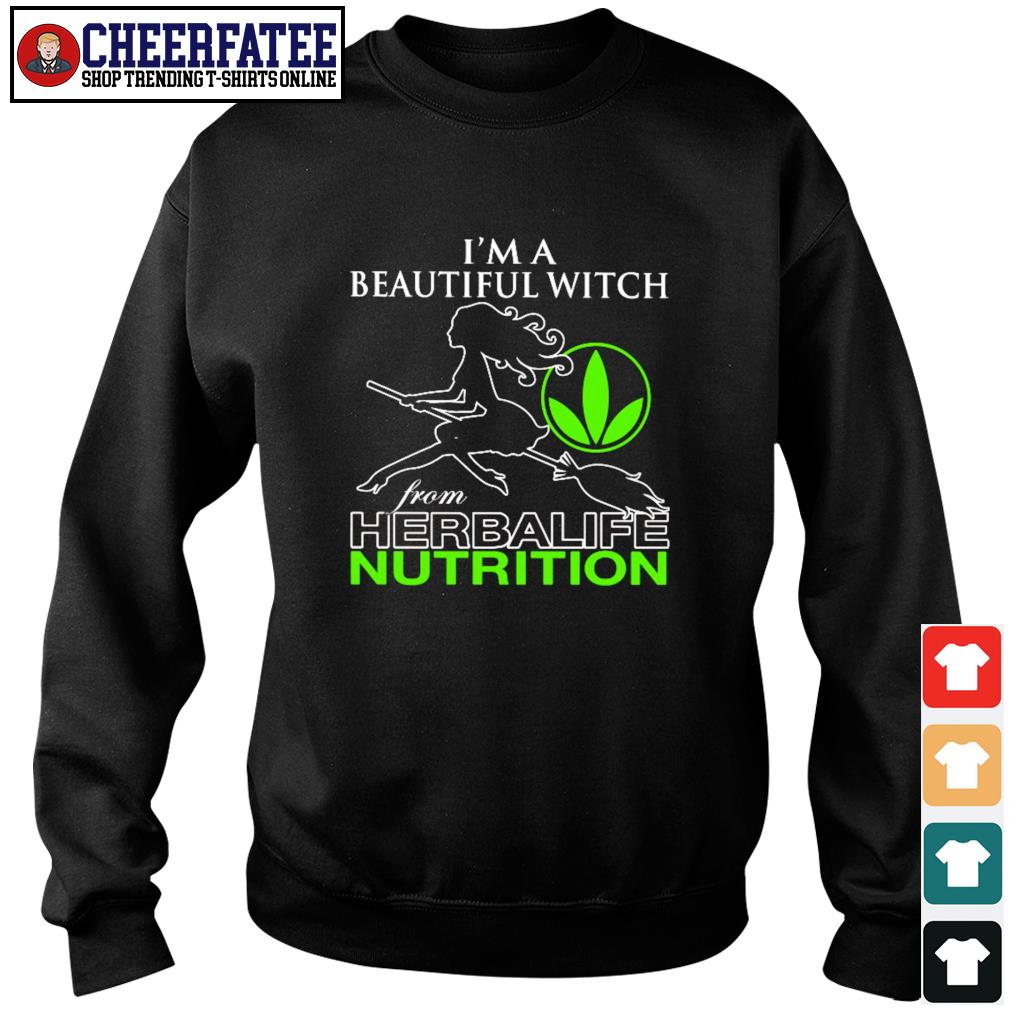 I'm a beautiful witch from herbalife nutrition s sweater