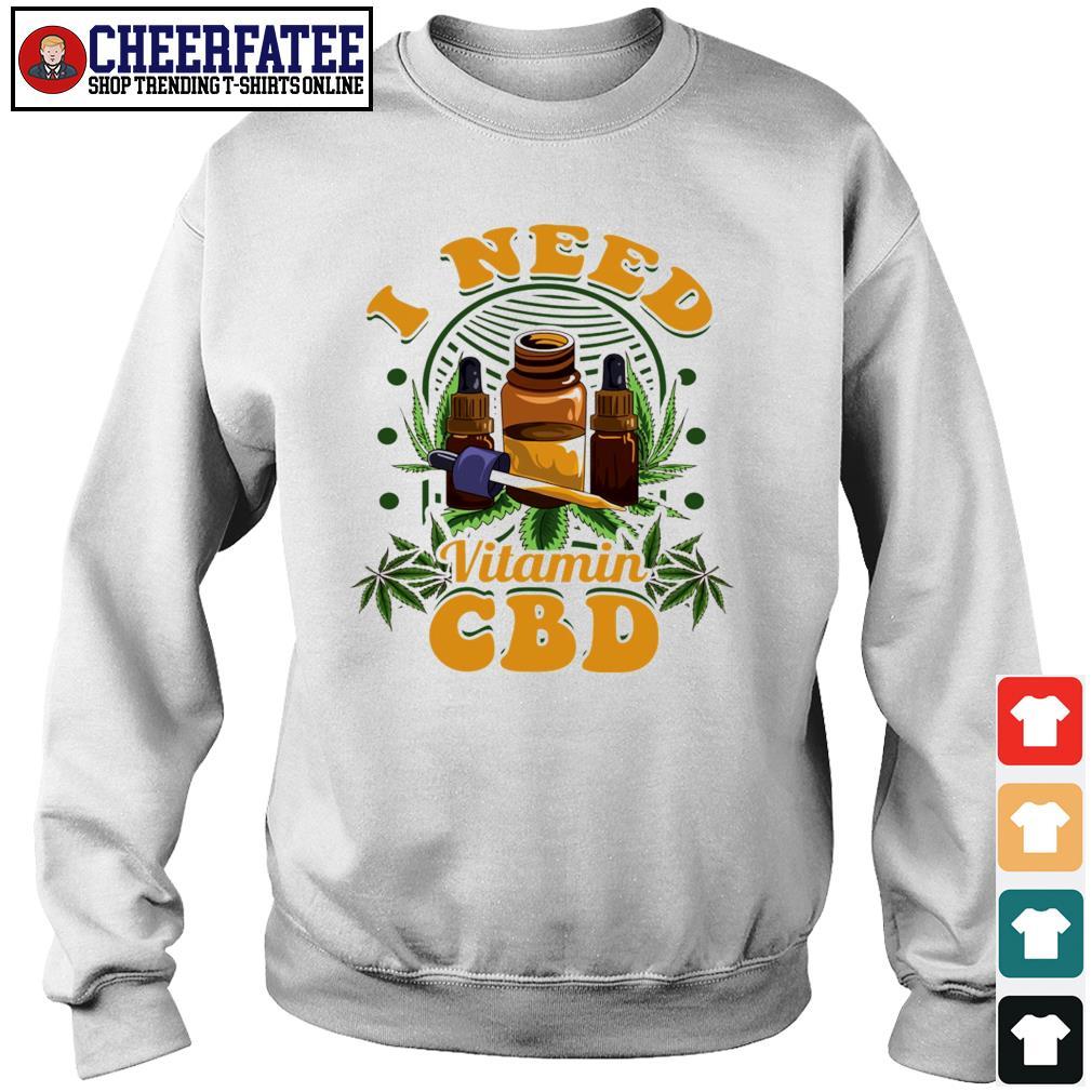I need vitamin CBD weed s sweater