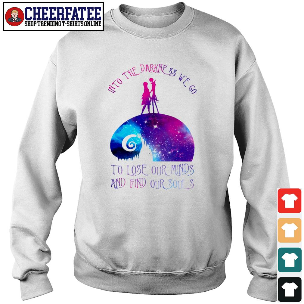 Into the darkness we go s sweater