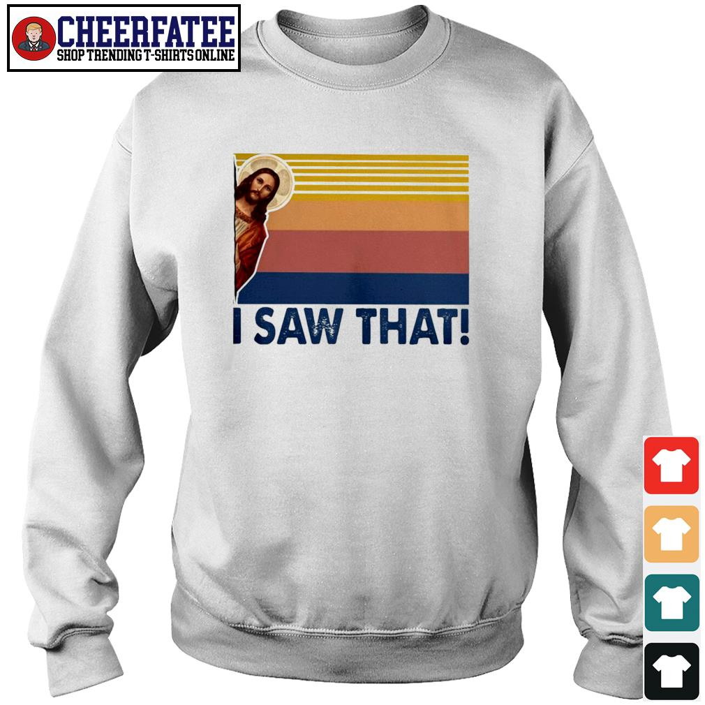 Jesus I saw that vintage s sweater