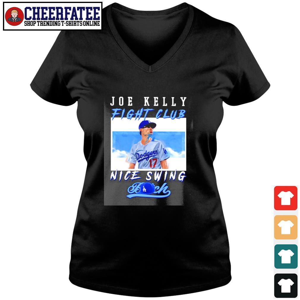 Joe kelly fight club nice swing bitch s v-neck t-shirt
