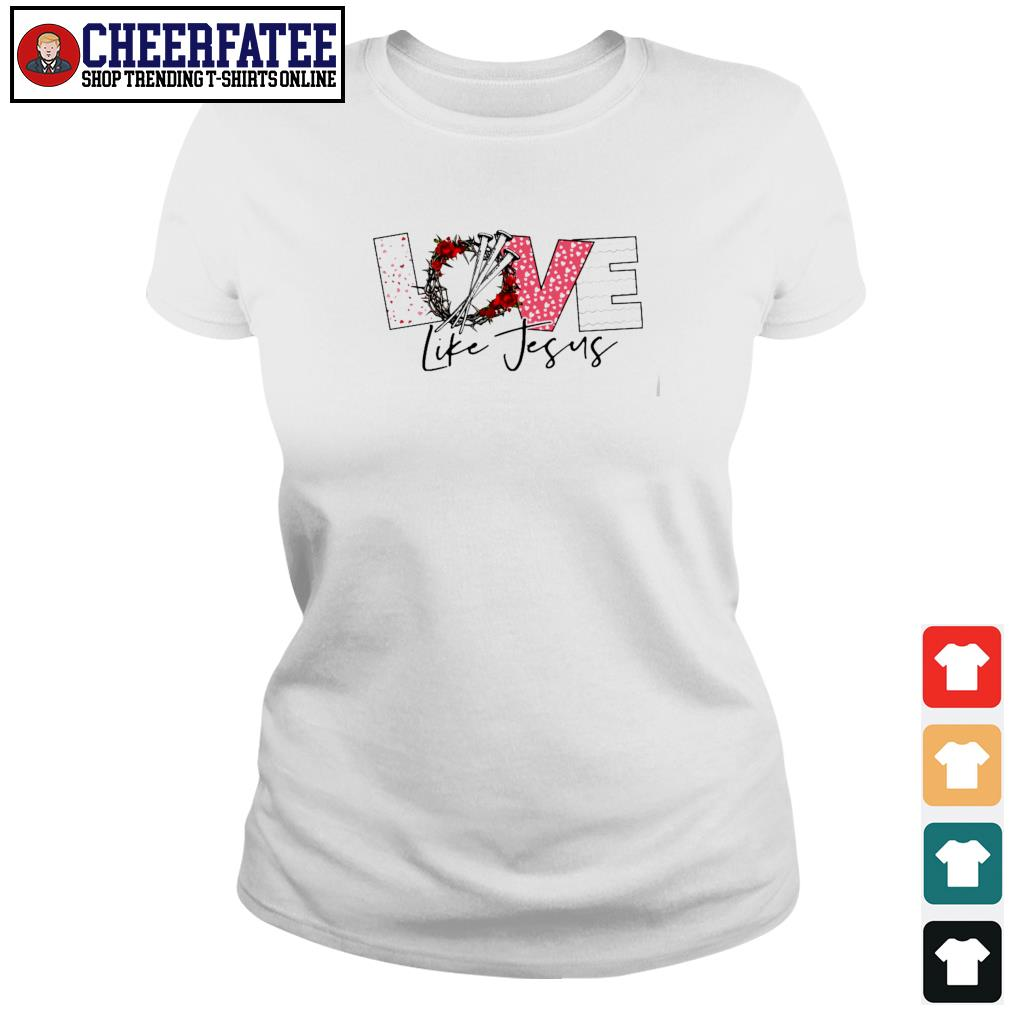 Love life jesus s ladies-tee