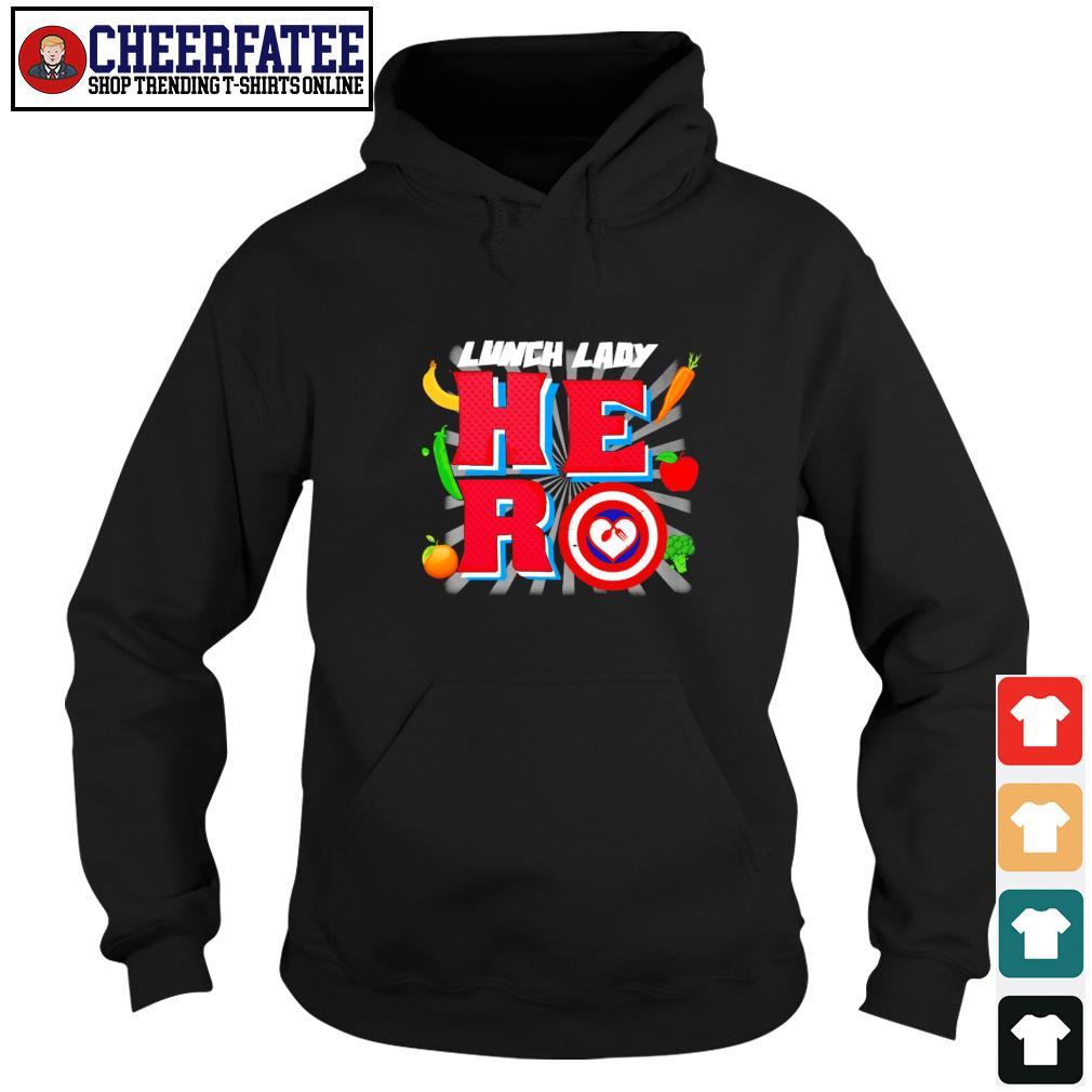 Lunch lady hero captain s hoodie