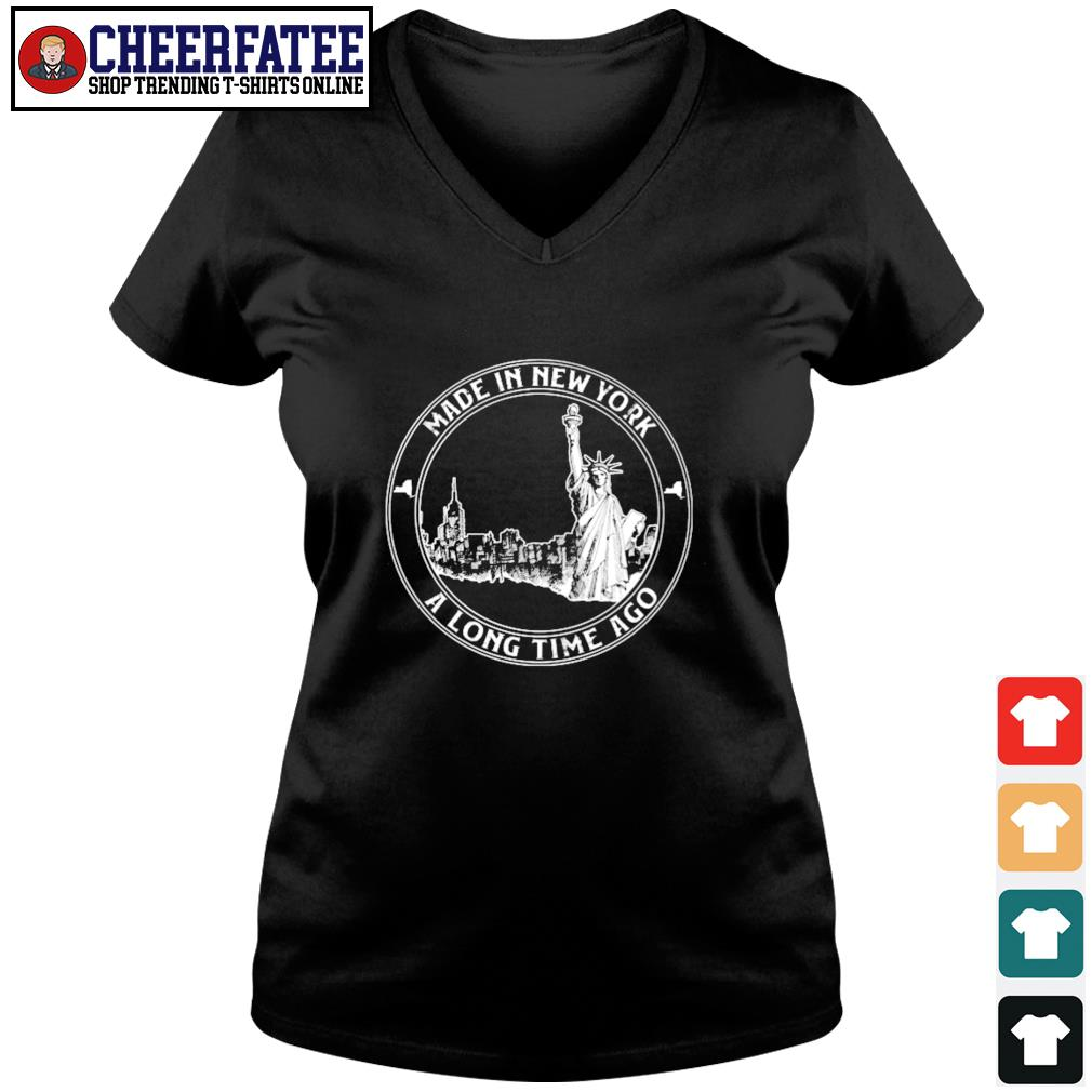 Made in new york a long time ago s v-neck t-shirt