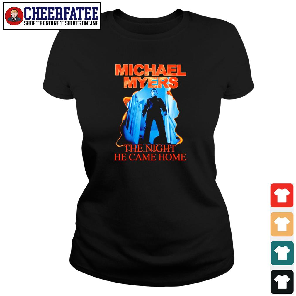 Michael myers the night he came home s ladies-tee