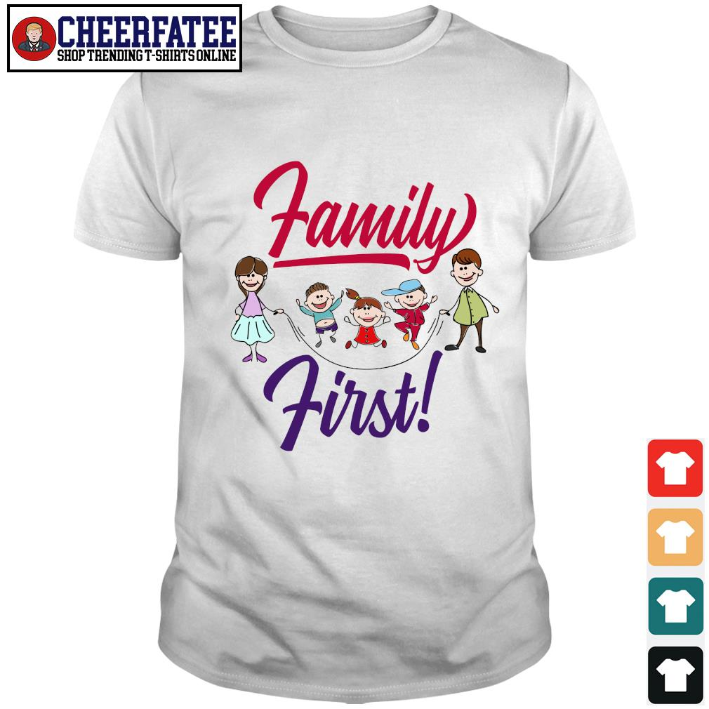 Mom and dad family first shirt