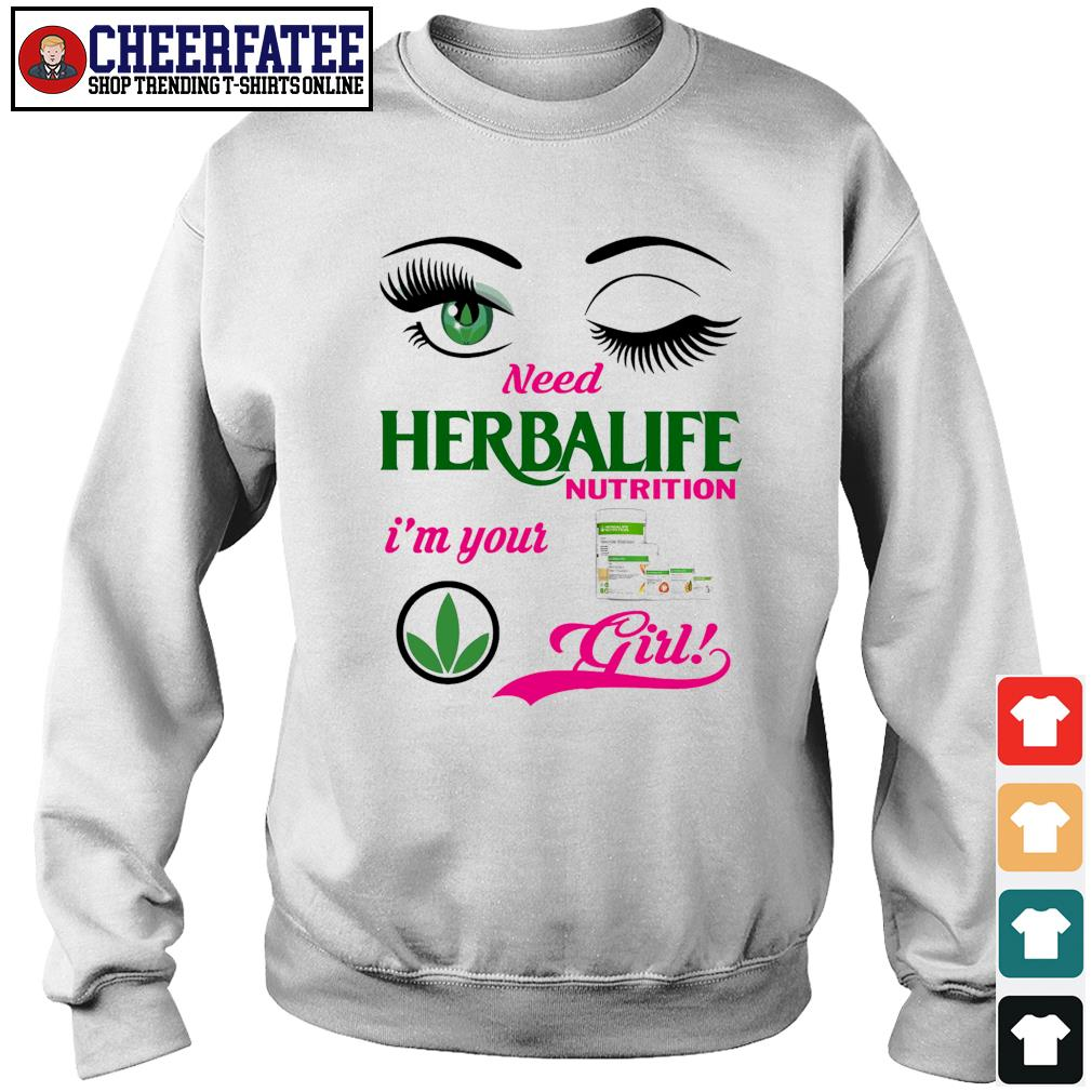 Need herbalife nutrition I'm your girl s sweater