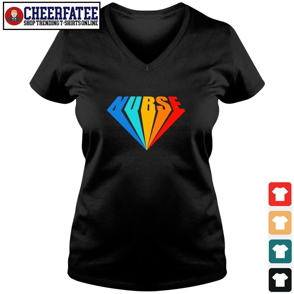 Nurse supreme vintage s v-neck t-shirt